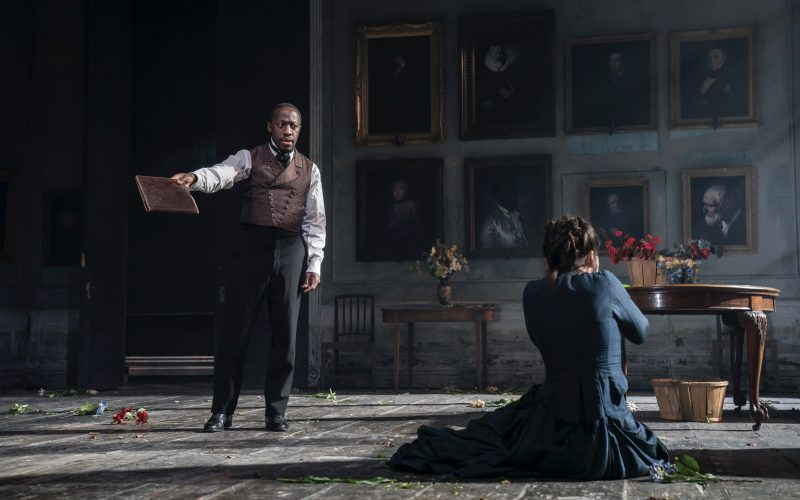 Giles Terera in Rosmersholm. Photo by Johan Persson