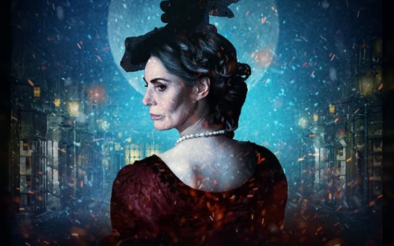 Sally Dexter in Christmas Carol at Wilton's Music Hall